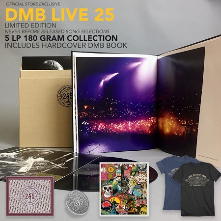 Dave Matthews Band Announce Limited 'DMB Live 25' Vinyl Box Set