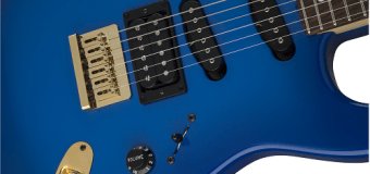 Charvel Announces Ex-Ozzy Guitarist Jake E Lee's USA Signature Blue Burst Guitar