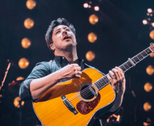 "VIDEO: Mumford and Sons End Latitude Set ""With a Little Help from My Friends"" – Lucy Rose"