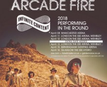 Arcade Fire Announce 3rd London Show @ Wembley – Infinite Content UK Tour