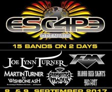 Escape Open Air 2017 Announces Venue Change – Joe Lynn Turner