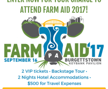 Win a VIP Trip to Farm Aid 2017
