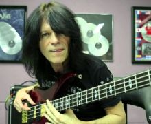 Signed Bass & Bass Lesson w/ Rudy Sarzo Up for Auction