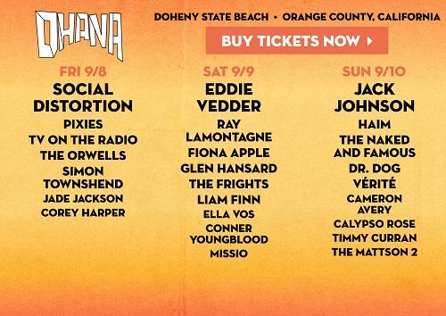 Ohana Fest Tickets Jack Johnson S New Album 4 Recap
