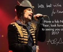 Adam Ant Postpones Florida Shows in Clearwater, Orlando and Jacksonville Due to Hurricane Irma