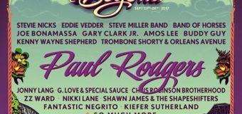 Bourbon & Beyond Festival Festival 2017, Tickets, Lineup, Paul Rodgers, Stevie Nicks, Eddie Vedder, Band of Horses