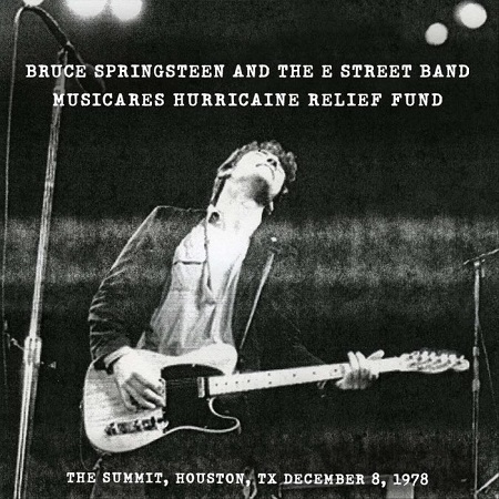 Bruce Springsteen 'Houston '78' - Album to Benefit Hurricane Relief Fund