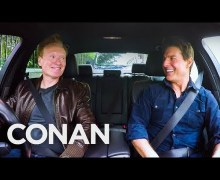 Conan O'Brien Drives With Tom Cruise