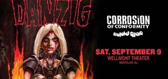 Ticket Giveaway:  Danzig w/ Corrosion of Conformity at The Wellmont Theater