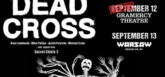 "GIVEAWAY:  Win Dead Cross Tickets for Gramercy Theatre/Warsaw NY Shows – ""Seizure and Desist"""