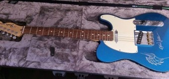 Eddie Vedder Signed Guitar & Ukulele Auction for Charity