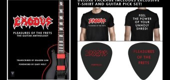 Exodus: 'Pleasures of the Frets' Tab Book
