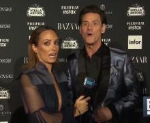 """Jim Carrey's Red-Carpet Fashion Week Interview, """"I wanted to find the most meaningless thing that I could come to"""""""