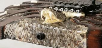 George Lynch Working on New Snake Hunter Model – Black Limba Body Guitar