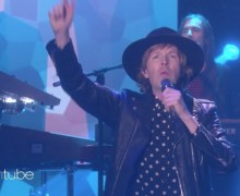 "Beck on Ellen Degeneres ""Up All Night"""