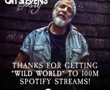 "Cat Stevens: ""Wild World"" Hits 100 Million Streams on Spotify"