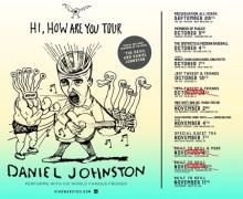 Daniel Johnston w/ Built to Spill – Portland, Vancouver, Seattle, Setlist, 2017