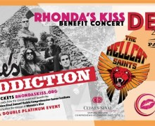 Jane's Addiction L.A. Fundraiser Concert Announced – Rhonda's Kiss, Hollywood Palladium