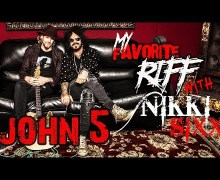 John 5 My Favorite Riff w/ Nikki Sixx – Watch, Video