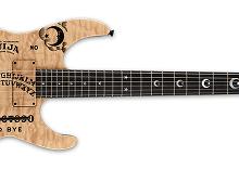 Kirk Hammett Ouija Guitar Natural ESP, LTD, Limited Run Announced
