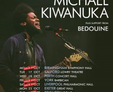 Michael Kiwanuka Set to Kick Off 2017 UK Tour + European Dates, Iceland