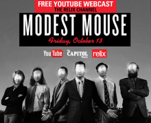 Modest Mouse Free Webcast Oct 13th – Watch it!