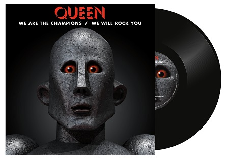 """Queen """"We Are The Champions"""" / """"We Will Rock You"""" Vinyl - Record Store Day"""