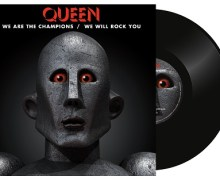 "Queen ""We Are The Champions"" / ""We Will Rock You"" Vinyl – Record Store Day"
