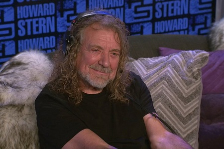 Robert Plant on Howard Stern 2017 - 'Carry Fire'
