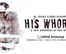 M Shawn Crahan Solo Exhibition of New Works Nov 2nd L.A. – Slipknot Clown