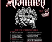 The Damned 2018 UK Tour w/ Slim Jim Phantom of Stray Cats, The Pretenders, Tickets