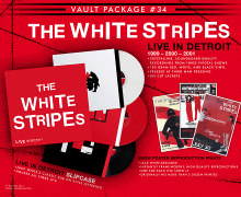 The White Stripes 'Live in Detroit' 3 LP, Vinyl – 1999 – 2000 – 2001