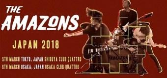 The Amazons 2018 Japan Tour, Tickets, Dates, Osaka, Tokyo
