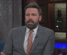 Ben Affleck Gets Grilled by Stephen Colbert on Sexual Misconduct Allegations