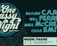 One Classy Night: Will Ferrell, Chad Smith, Mike Mcready, Moore Theatre, Tickets