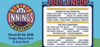 Innings Festival 2018 Lineup Announced, Queens of the Stone Age, Counting Crows, Cold War Kids, The Decemberists