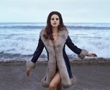 Lana Del Rey Giving Away Pop-Up Store Items, Galore Cover Jacket, Dresses