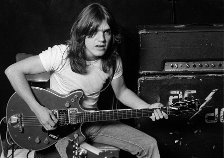 Tributes: AC/DC Guitarist Malcolm Young Dies - Eddie Van Halen, Slash, Ozzy, Pete Way