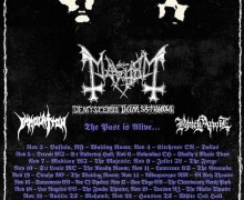 Mayhem Tour 2017/2018 US, Dates, Tickets, Lineup, Immolation, TX, FL, NY, VA, AL, TN, USA