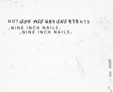 Nine Inch Nails 'Not the Actual Events' CD