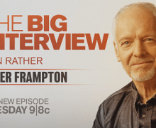 Peter Frampton on The Big Interview w/ Dan Rather