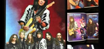 Ex-Angel Guitarist Punky Meadows Tour Photo Book