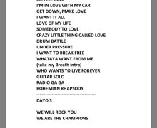 Setlist: Queen Prague 11/01, Videos, Photos