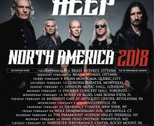 Uriah Heep 2018 Tour Dates Canada/U.S., Tickets, Dates, Schedule, North America