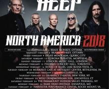 Uriah Heep 2018 Tour Dates Canada/U.S., Tickets, Dates, Schedule, North America