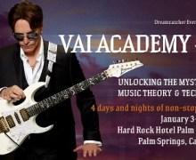 Steve Vai: Vai Academy 4.0 Message – Palm Springs, CA 2018