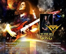 Vinnie Moore Tour 2017 w/ Gus G – U.S. Dates, Tickets