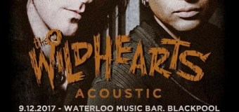 The Wildhearts Tour 2017 UK Acoustic Dates, Tickets