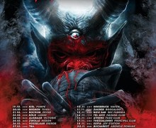 Annihilator 2018 Tour/Europe Dates/Tickets, Germany, Switzerland, Austria, Poland, Romania, Greece, Italy, Spain