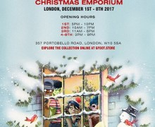 Gorillaz Pop-Up Store London G foot Christmas Emporium, Directions, Dates, Times